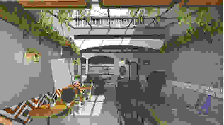 HASH HOUSE - YOGYAKARTA, INDONESIA Gastronomi Gaya Country Oleh Asta Karya Studio Country