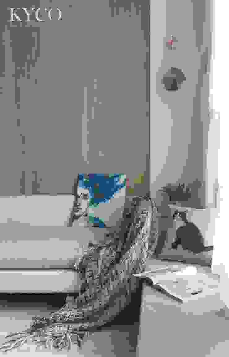 浮光LOFT 芮晟設計事務所 现代客厅設計點子、靈感 & 圖片 塑木複合材料 Grey