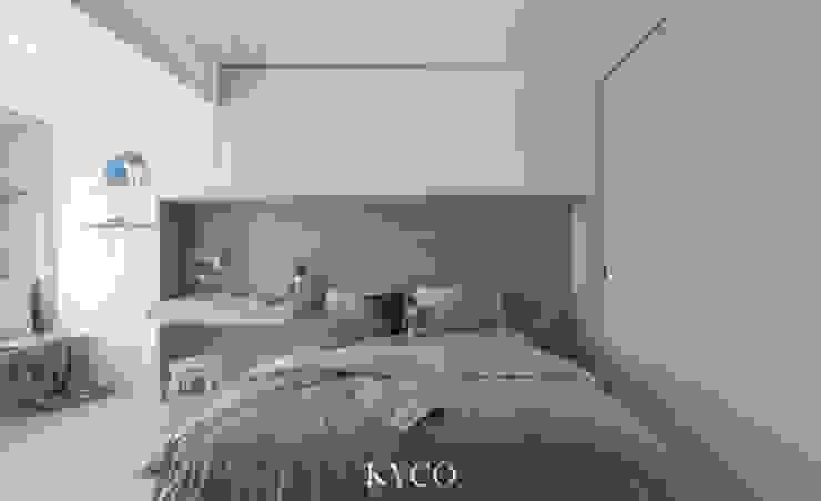 浮光LOFT 芮晟設計事務所 臥室 塑木複合材料 Grey