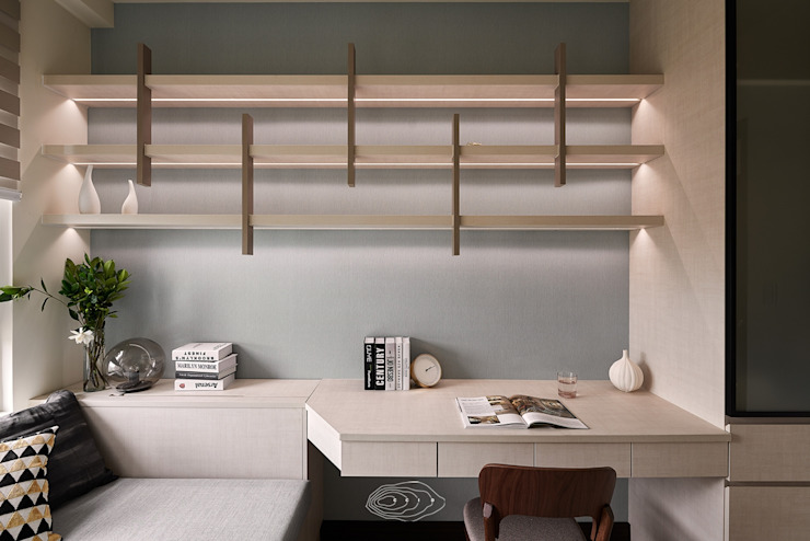 紋理.線條 根據 層層室內裝修設計有限公司 現代風