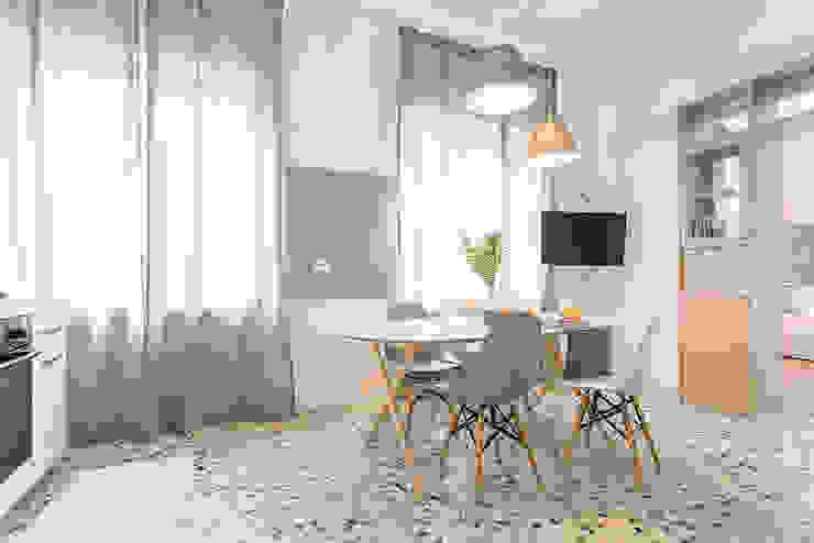 Habitat Home Staging & Photography ห้องนั่งเล่น White
