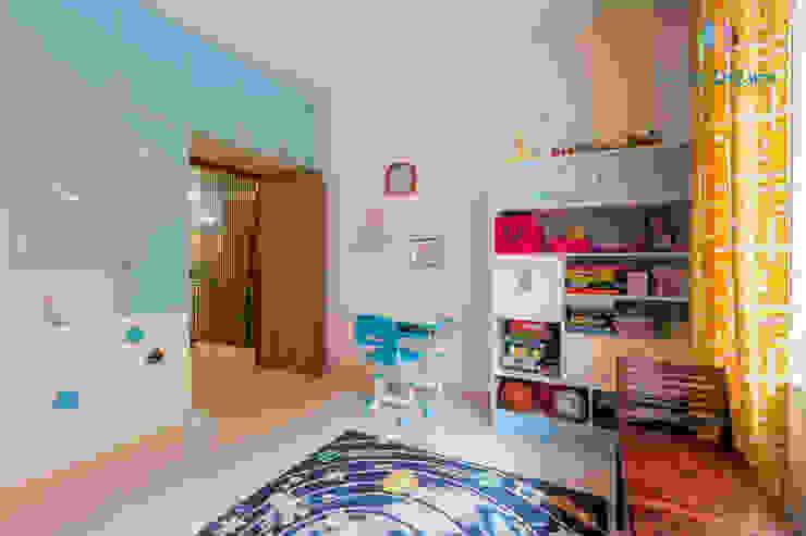 Axis Aspire 2.5 BHK - Mr. Ramprasad DECOR DREAMS Modern nursery/kids room