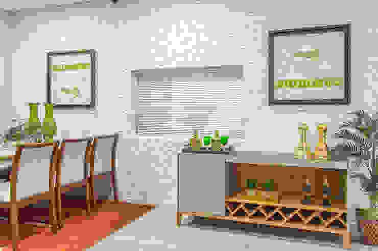 Aparador Bar ooouuuuuum Bar Aparador por Sgabello Interiores Moderno Madeira Efeito de madeira