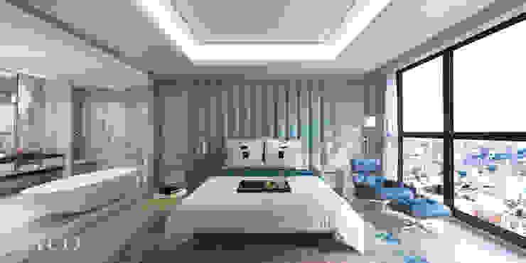 主臥室 根據 芮晟設計事務所 古典風