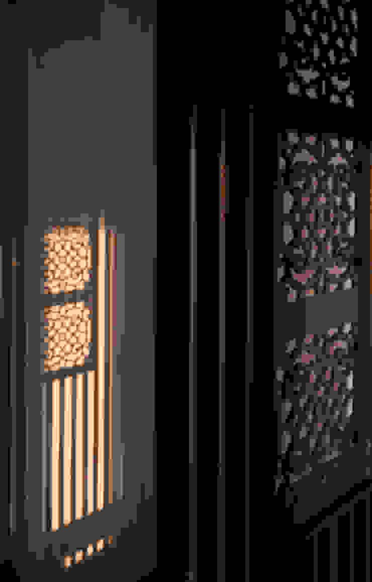 板橋湛藍新天地(現代間約禪風) Moderne Wände & Böden von 芮晟設計事務所 Modern