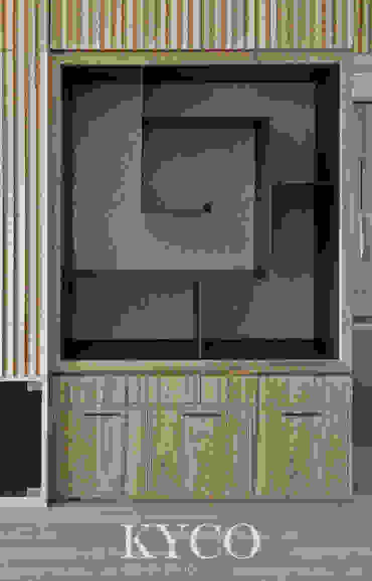 板橋湛藍新天地(現代間約禪風) Moderne Wohnzimmer von 芮晟設計事務所 Modern