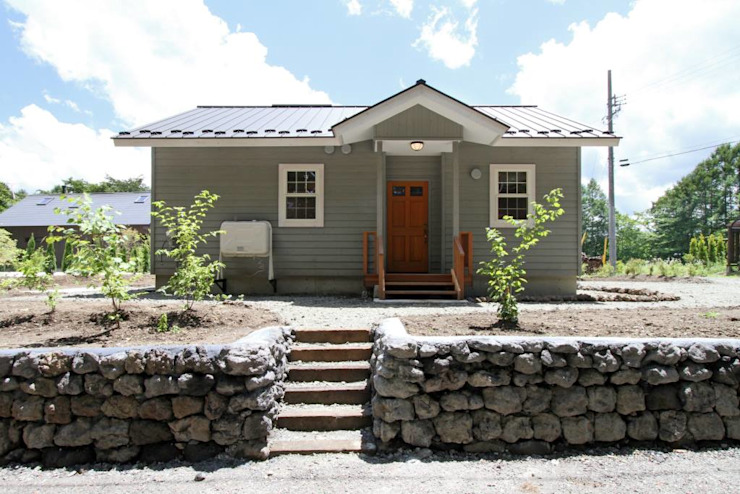 (有)岳建築設計 Rumah Gaya Kolonial