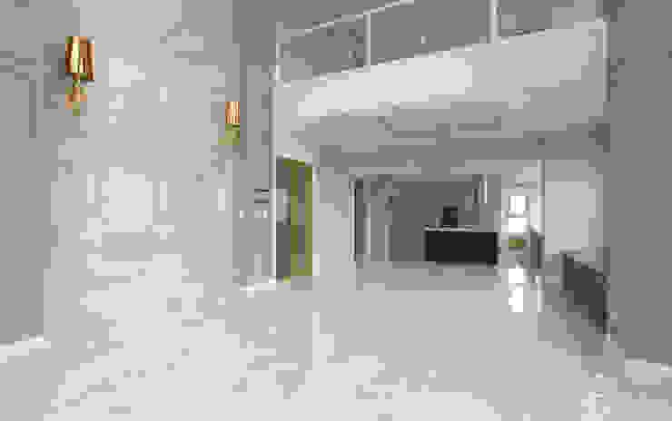 호텔같은 복층 펜트하우스 인테리어 모던스타일 주방 by 디자인 아버 모던
