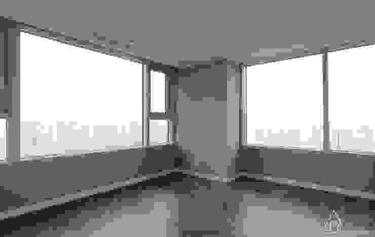 호텔같은 복층 펜트하우스 인테리어 모던스타일 미디어 룸 by 디자인 아버 모던