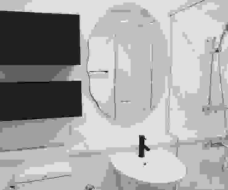 호텔같은 복층 펜트하우스 인테리어 모던스타일 욕실 by 디자인 아버 모던