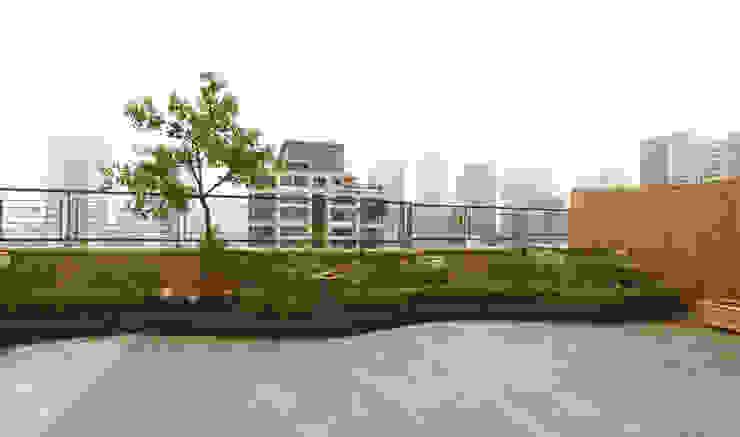 호텔같은 복층 펜트하우스 인테리어 클래식스타일 온실 by 디자인 아버 클래식