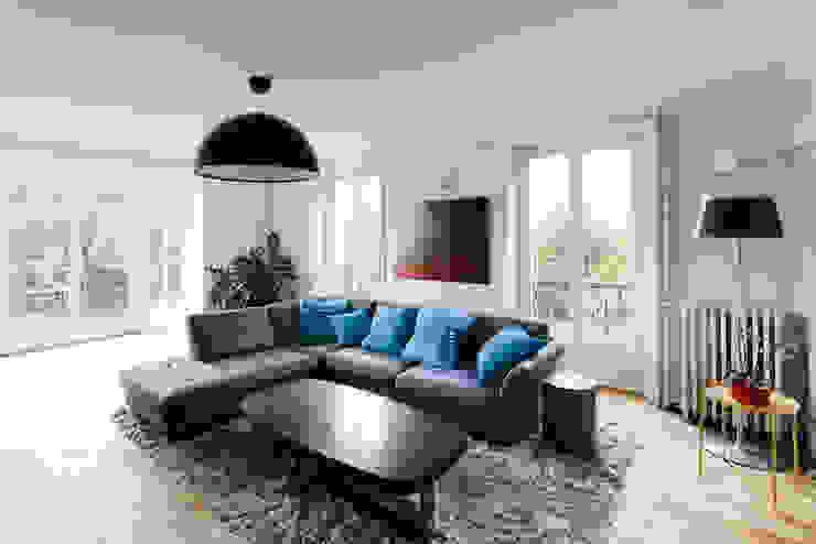 Salon:  de style  par AC architecture