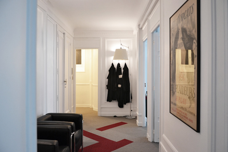 Cabinet d'avocats - Entrée A comme Archi Espaces de bureaux modernes