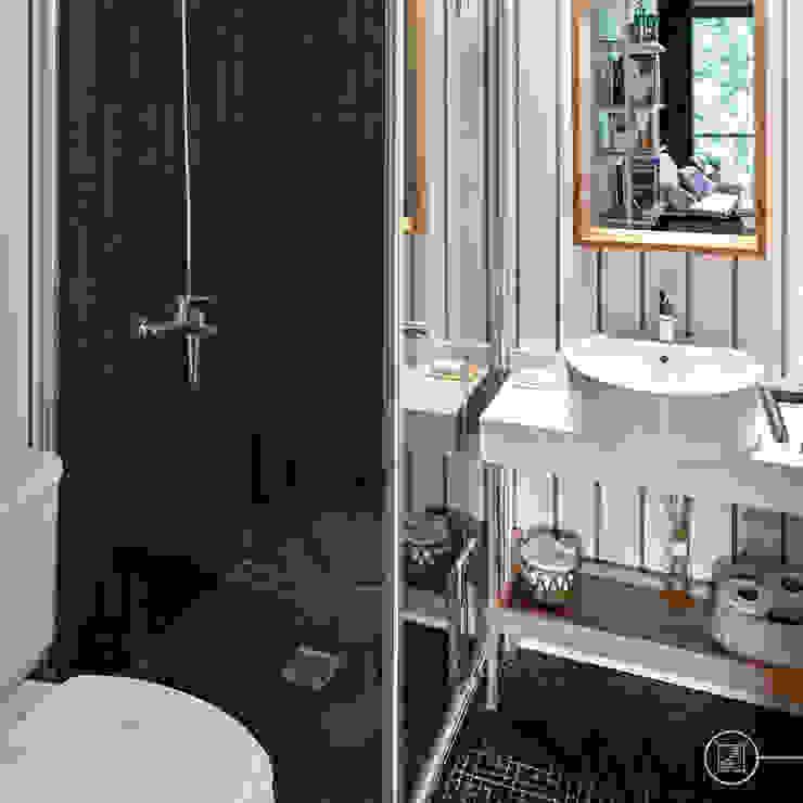 ห้องน้ำ โดย Kgarquitectura ,