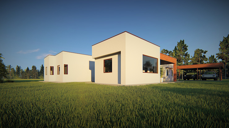 Single family home by Territorio Arquitectura y Construccion - La Serena, Modern