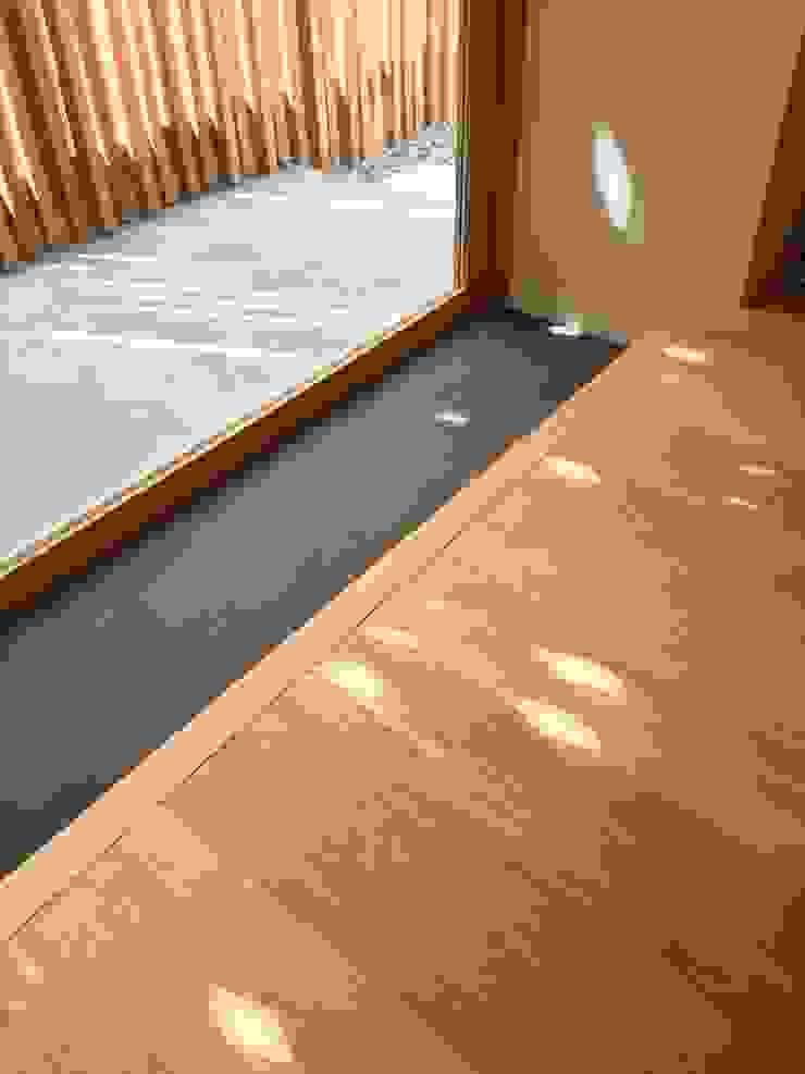 一級建築士事務所A-SA工房 Modern study/office Wood Wood effect