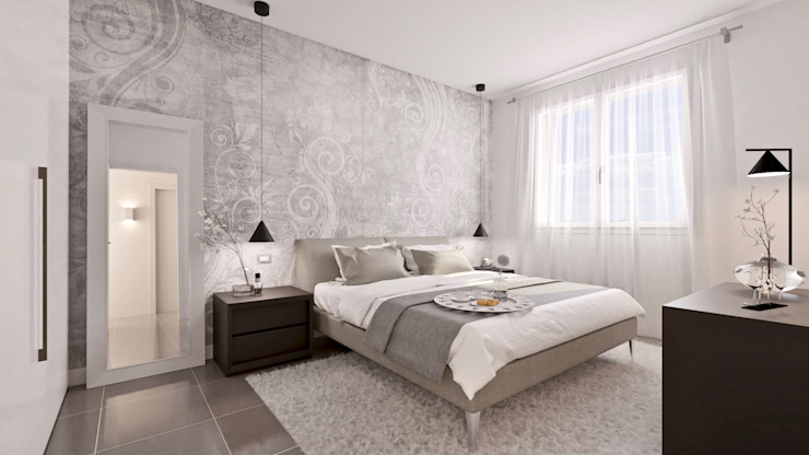 Modern style bedroom by Gentile Architetto Modern