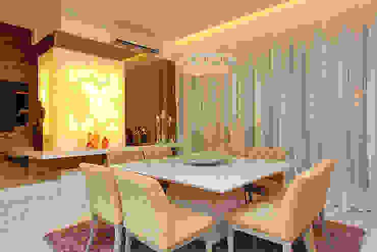 Residência Alphaville Fortaleza Salas de jantar modernas por RI Arquitetura Moderno