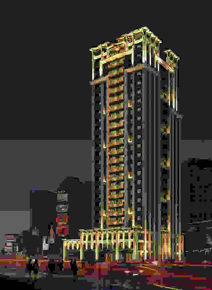 台北市萬華區案例 – 24層建築外觀設計&夜間4時段燈光計畫 根據 雲展建築設計 Winstarts Architectural Design Group