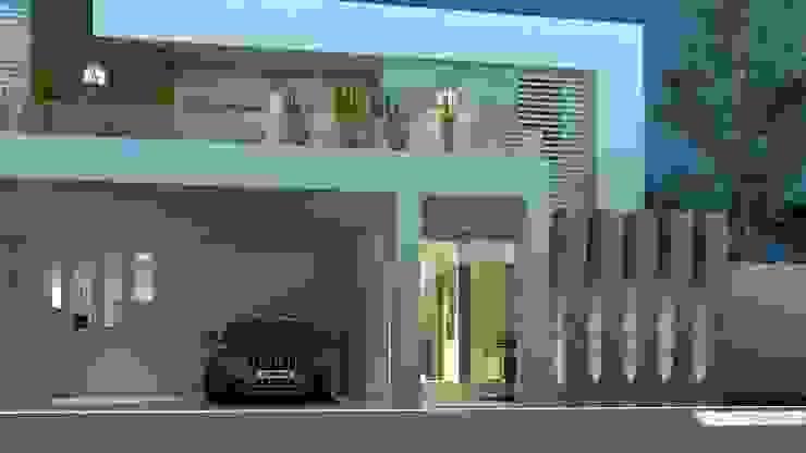 CouturierStudio Garagens e arrecadações minimalistas