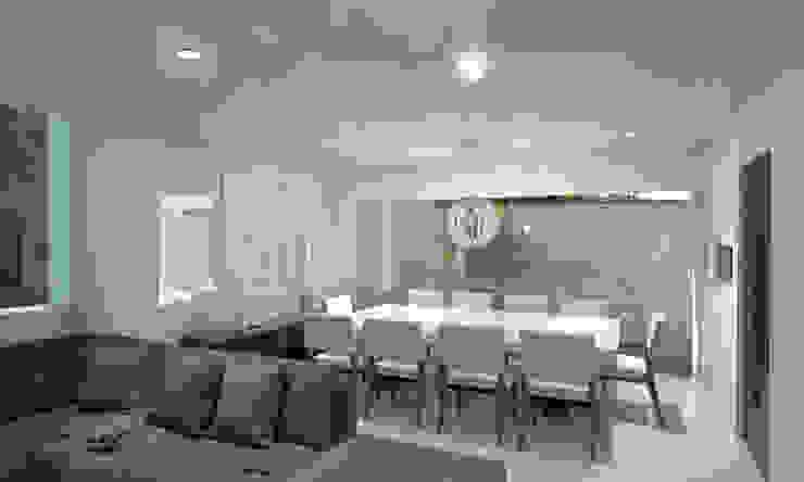 CouturierStudio Minimalist dining room