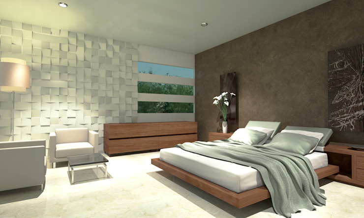 Minimalist bedroom by CouturierStudio Minimalist