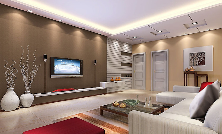 Interior Design Ideas From A 3bhk Home In Noida Homify
