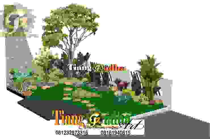 Desain Taman Halaman Depan Oleh Tukang Taman Surabaya - Tianggadha-art