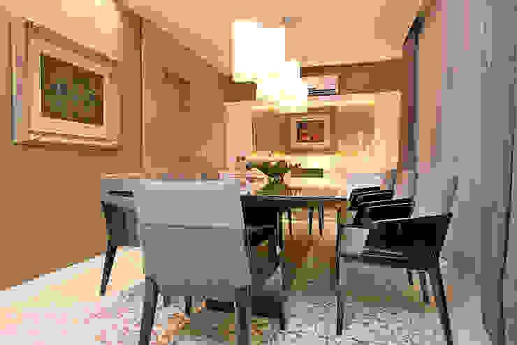 Apartamento Praia de Iracema RI Arquitetura Salas de jantar rústicas