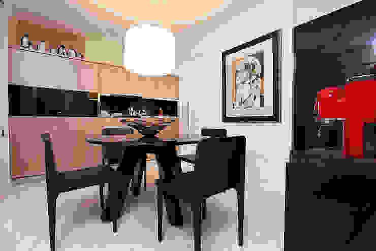 Apartamento Praia de Iracema RI Arquitetura Salas de jantar modernas