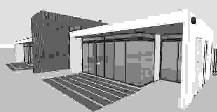 Casa Hijuelas de MMAD studio - arquitectura interiorismo & mobiliario - Moderno