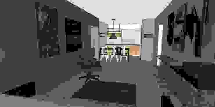 remodelación departamento habitacional de MMAD studio - arquitectura interiorismo & mobiliario -