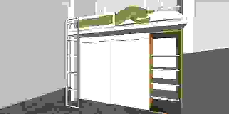 Depto FM de MMAD studio - arquitectura interiorismo & mobiliario - Moderno