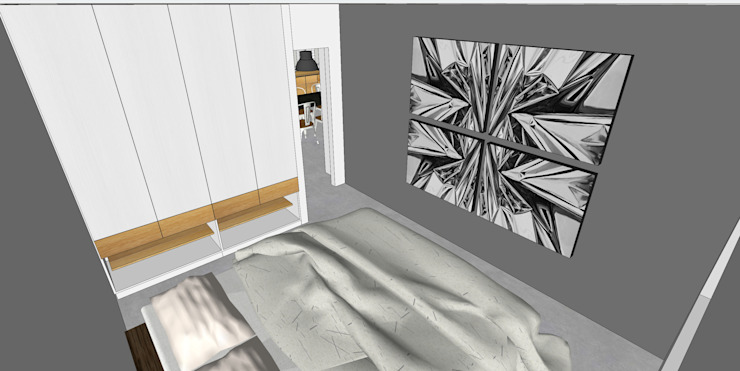 Depto FM de MMAD studio - arquitectura interiorismo & mobiliario -