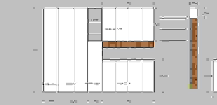 modern  door MMAD studio - arquitectura interiorismo & mobiliario -, Modern Massief hout Bont