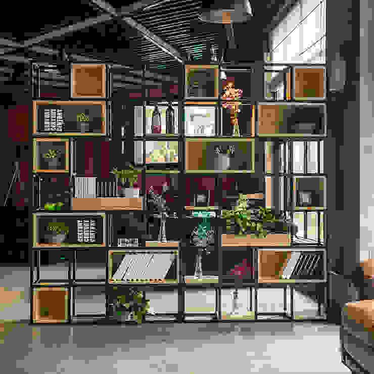 Kệ gỗ – Kệ trang trí giá tốt nhất tại Hà Nội: scandinavian  by TNHH thương mại và nội thất Anh Quân, Bắc Âu
