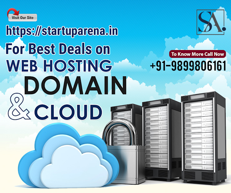 Domain Registration Web Hosting Services and Cloud Hosting in India by Startuparena Asian
