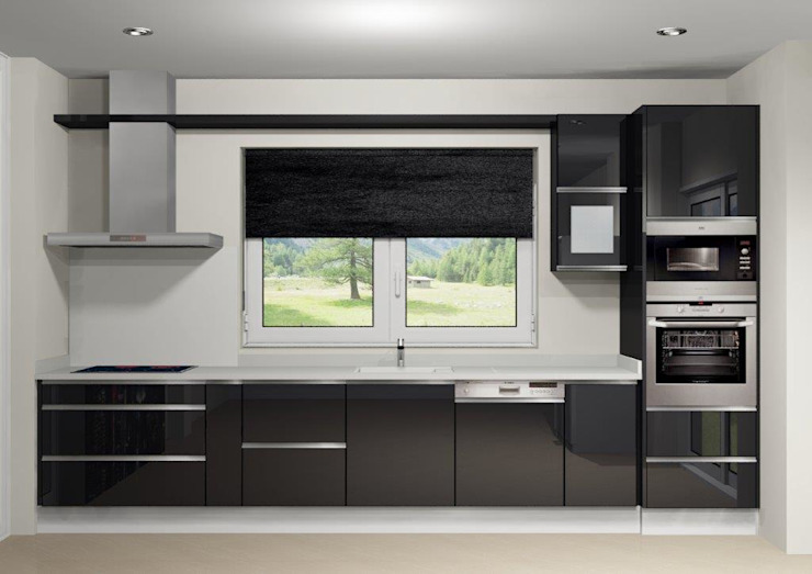 Kitchen units by Maria José Faria Interiores Ldª, Modern