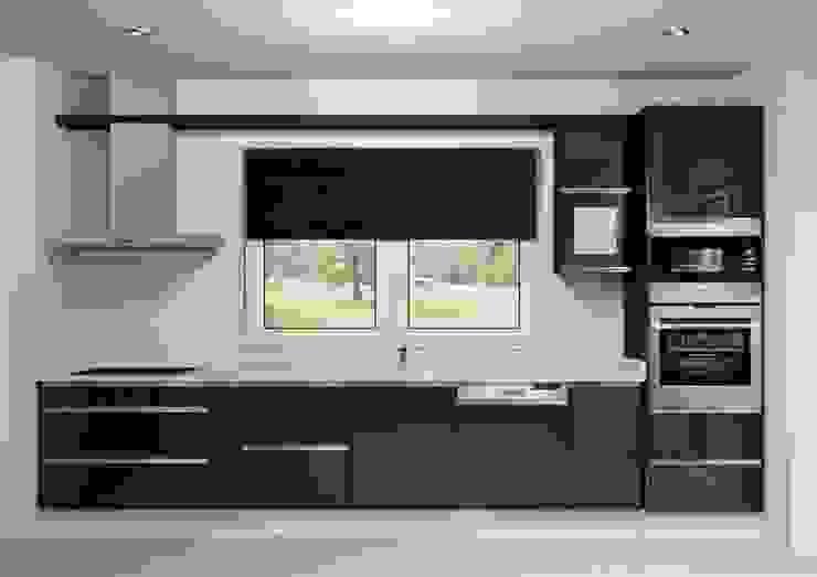 Armarios de cocinas de estilo  por Maria José Faria Interiores Ldª, Moderno