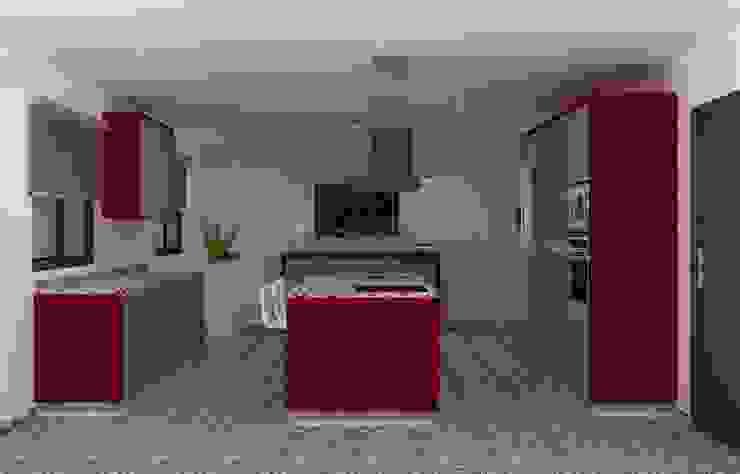 Modern Kitchen by Maria José Faria Interiores Ldª Modern