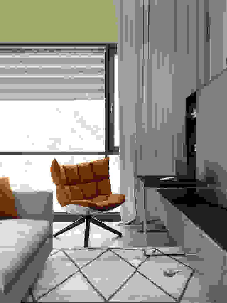 Moderne Wohnzimmer von EJ Studio Modern