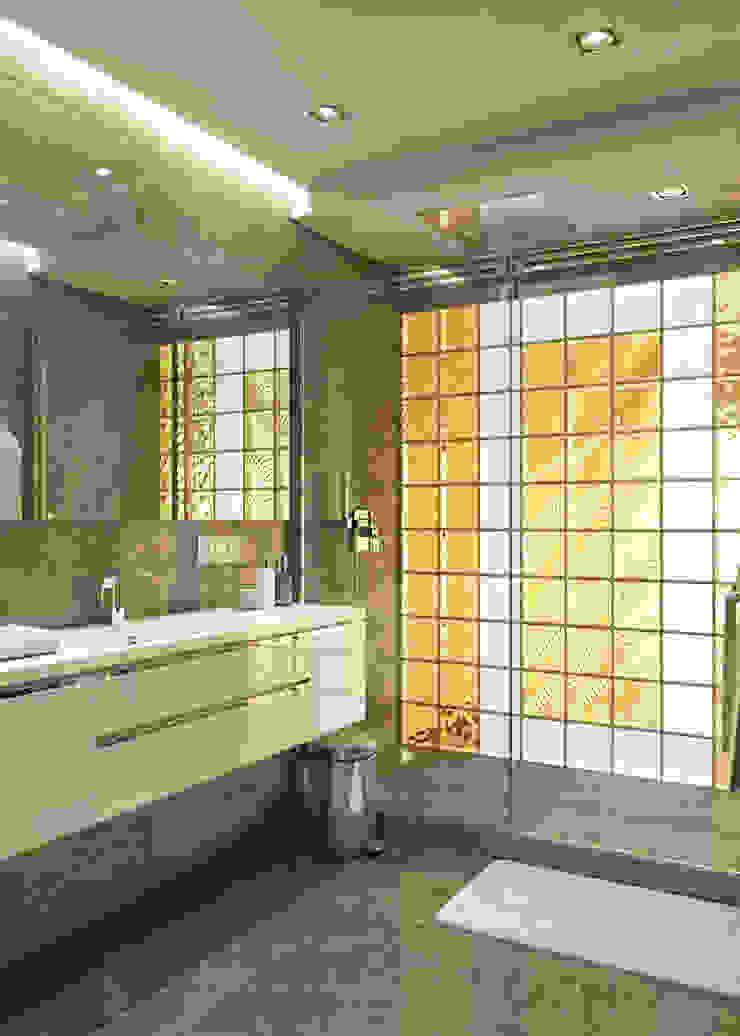 Moderne Badezimmer von EJ Studio Modern