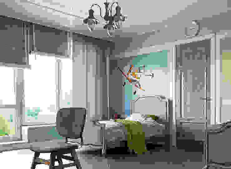 Mediterranean style nursery/kids room by EJ Studio Mediterranean