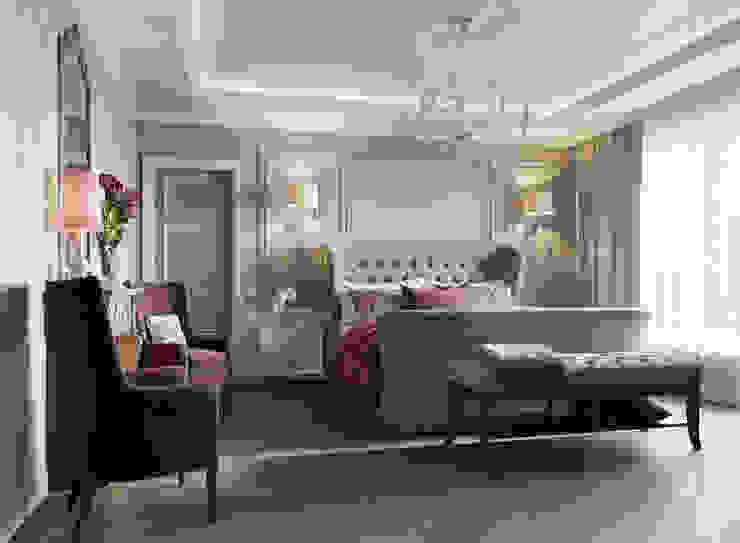 Mediterranean style bedroom by EJ Studio Mediterranean