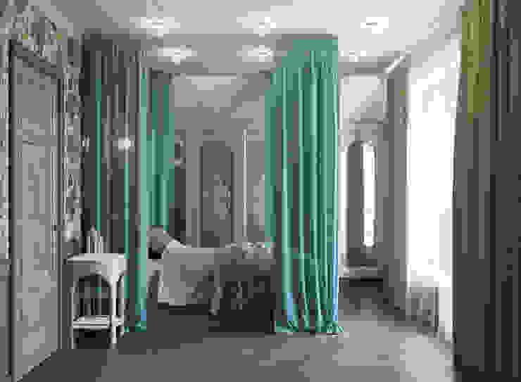 Dormitorios de estilo mediterráneo de EJ Studio Mediterráneo