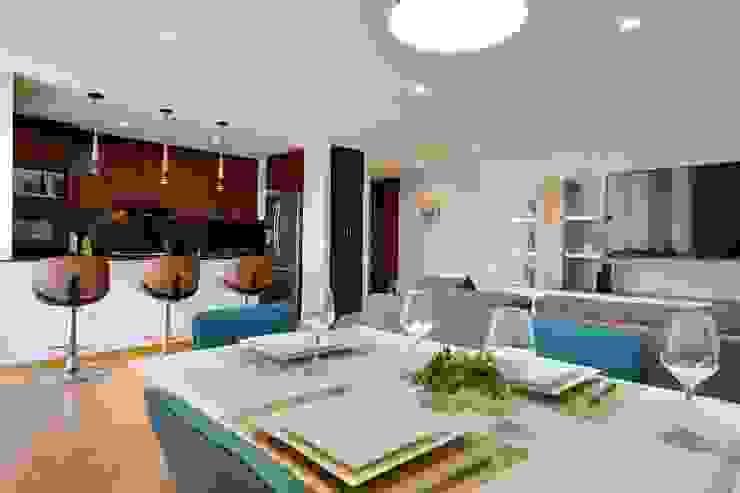 Gauss, disfruta cada espacio Comedores de estilo moderno de Natalia Mesa design studio Moderno