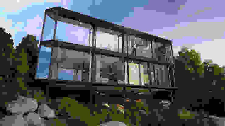 HouseZero - Modular building systems for premium off-grid homes Modern houses by HouseZero Modern
