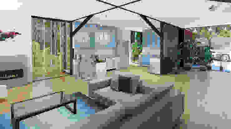 HouseZero - Modular building systems for premium off-grid homes Modern kitchen by HouseZero Modern
