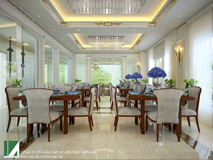 KHÁCH SẠN + CĂN HỘ CHO THUÊ . 9 TẦNG bởi Kiến trúc Việt Xanh