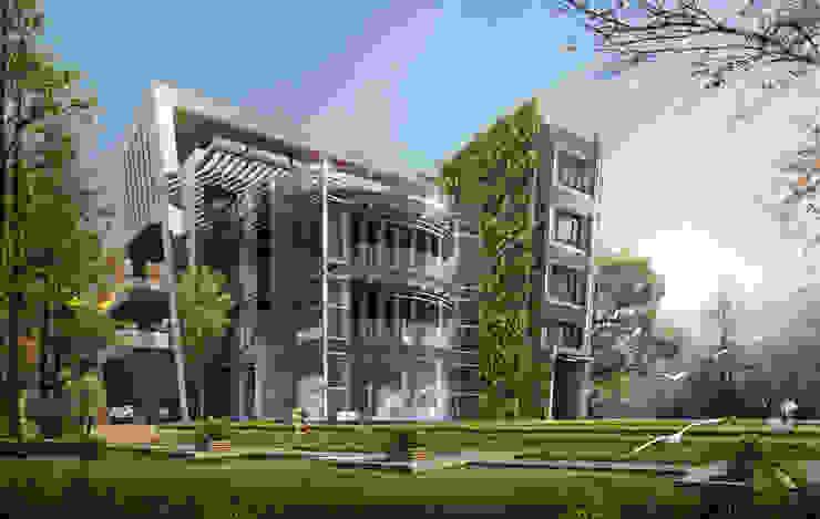 台北市案例-私人住宅規劃: 現代  by 雲展建築設計 Winstarts Architectural Design Group, 現代風
